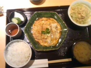 カツ煮定食