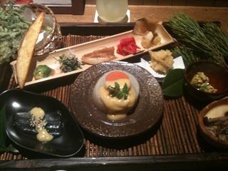 梅干しの天ぷら