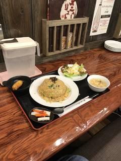 豚角煮チャーハン定食