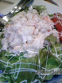 カニいっぱいサラダ