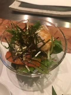 真鯛のサラダ