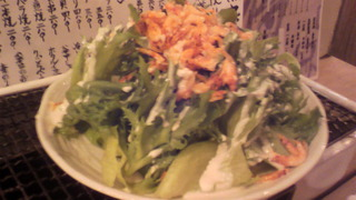 干しエビのサラダ