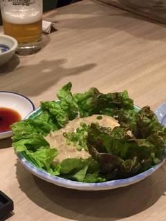 蟹味噌サラダ