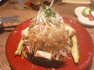 ナスと豚しゃぶのサラダ