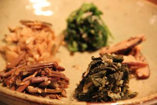 韓国山菜ナムル盛り合わせ