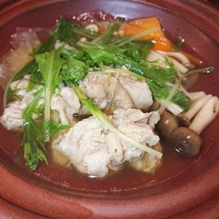五島豚のしゃぶ鍋