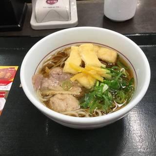 鴨そば(小)