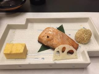 鮭の焼き物