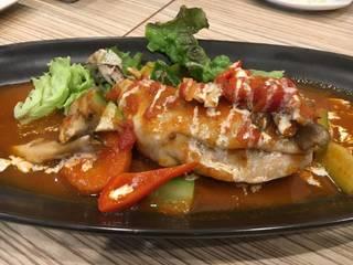 宮崎県産鶏ももまるごと一本トマトソース煮