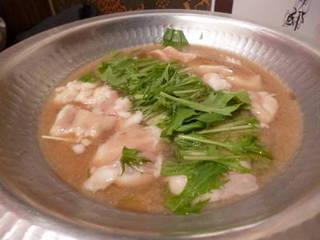 西京味噌もつ鍋