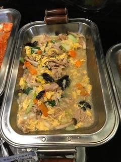 豚肉と玉子の塩炒め(ランチビュッフェ)