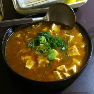 辛口マーボー豆腐