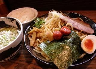 梅塩つけ麺