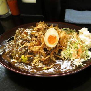黒い肉カレー(大)