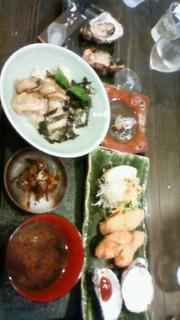 牡蠣料理コース