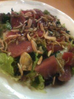 おつまみ貝鮮サラダ