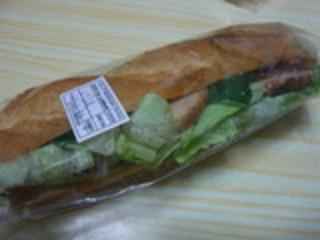 照り焼きチキンのサンドイッチ