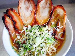 あぶり焼きチャーシュー麺