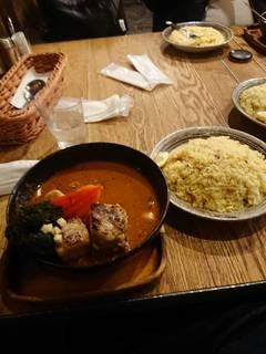 角煮のスープカレー