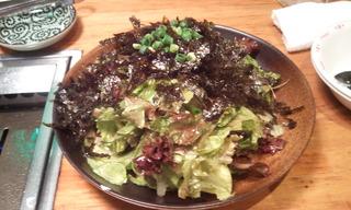 韓国岩のりサラダ