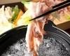 豚と有機野菜のコラーゲンしゃぶしゃぶ
