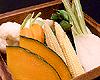 蒸しあげ野菜盛り合わせ ごまマヨネーズ