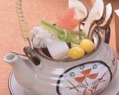 松茸と秋鱧の土瓶蒸し