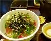 本日の鮮魚と京都九条ネギ