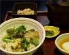 京生麩と壬生菜のきざみ漬