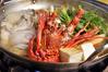 伊勢海老と牡蠣の土手鍋