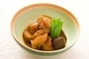手羽先と馬鈴薯の八丁味噌煮