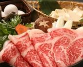 北海道産牛すきやき食放題
