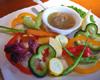 おもしろ野菜のバーニャカウダ