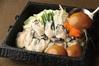 牡蠣の味噌コラーゲンすき焼き