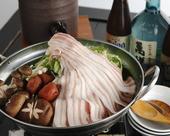 島豚のしゃぶしゃぶ鍋