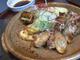 地鶏モモ肉の塩焼