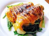 白身魚ウニソース焼