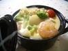 ホタテとゴロゴロ野菜のシチュー