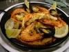 魚介と鶏肉のスペイン炊き込みごはん
