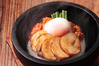 鶏チャーシューとピリ辛キムチ