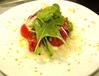 宮崎の真鯵の香草マリネ  ルーコラたっぷりサラダ