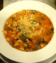 白いんげん豆と温野菜のスープ〝ミネストローネ〟