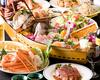 *花ざかり食べ飲み放題コース+蟹+ 伊勢海老付超豪華産地直送刺身盛り(船盛り)