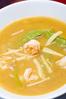 ぷりぷり海老の酸っぱいスープ
