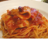 豚バラ肉といろいろお野菜のスパゲッティ