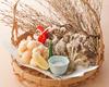 舞茸と小海老の天ぷら