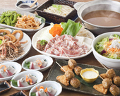 胡麻肉味噌鍋コース