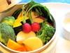 ヘルシー温野菜のセイロ蒸し バーニャカウダソース