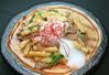 牛カルビと長芋のピリ辛炒め