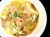 たっぷりキノコとイタリア産生ハムのオニオンスープ